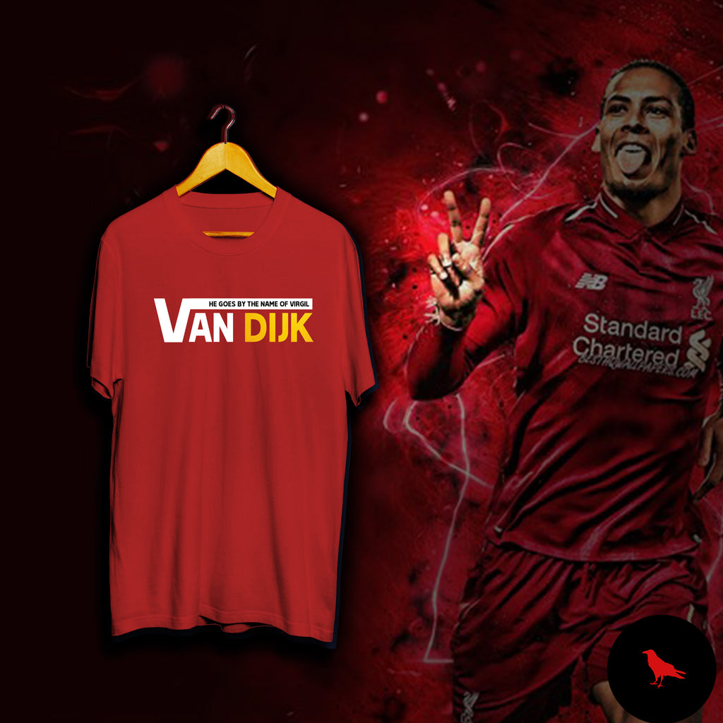 VIRGIL VAN DIJK Football T Shirt