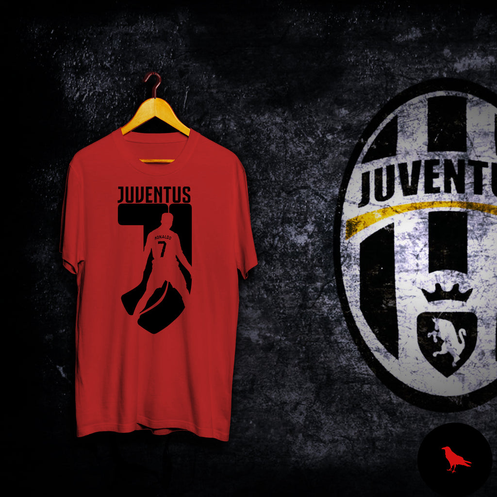 RONALDO 7 Juventus Football T Shirt