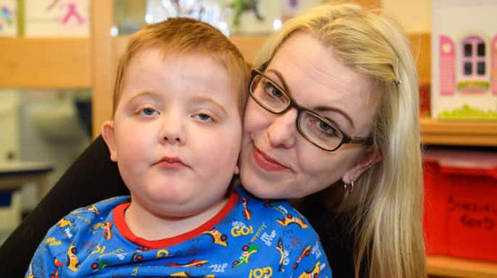 Mum shares video of son's fit in bid to legalise cannabis oil