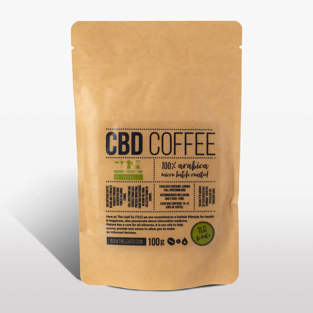 CBD DECAF Coffee - Filter, 100g bag