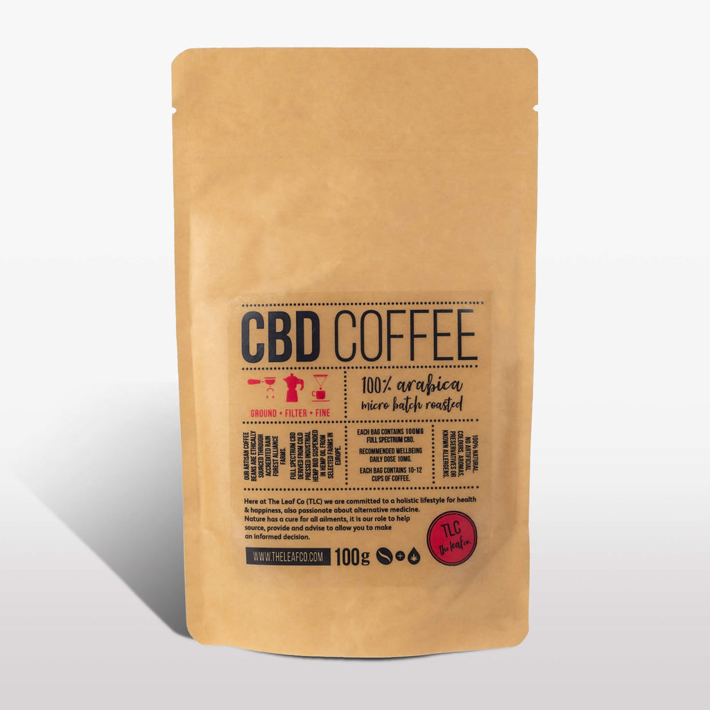 CBD Coffee - Filter, 100g bag