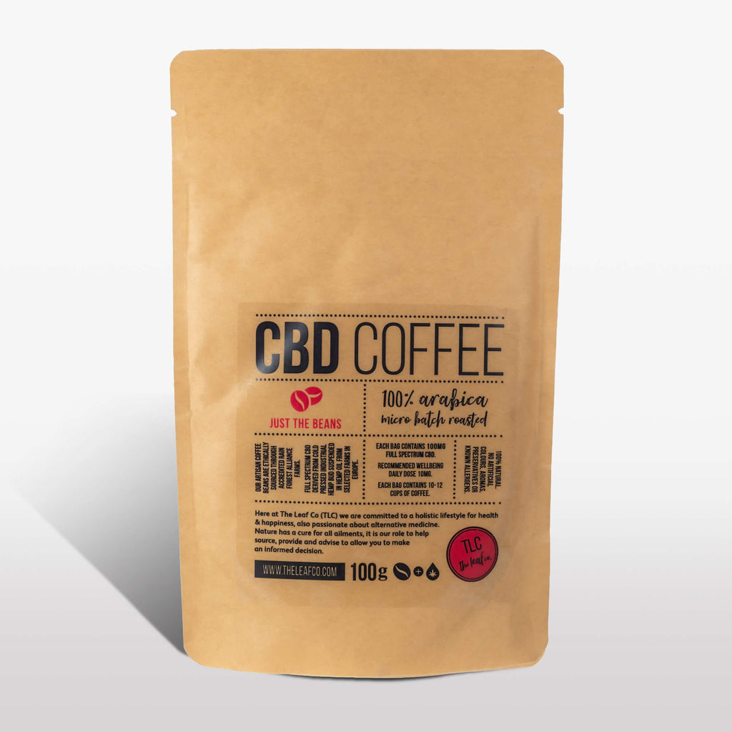 CBD Coffee - Just the Beans, 100g bag