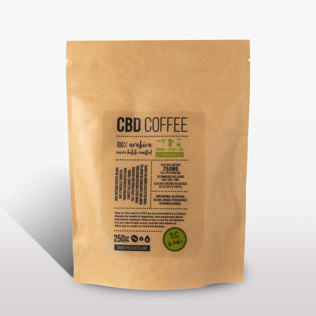 CBD DECAF Coffee - Filter, 250g bag