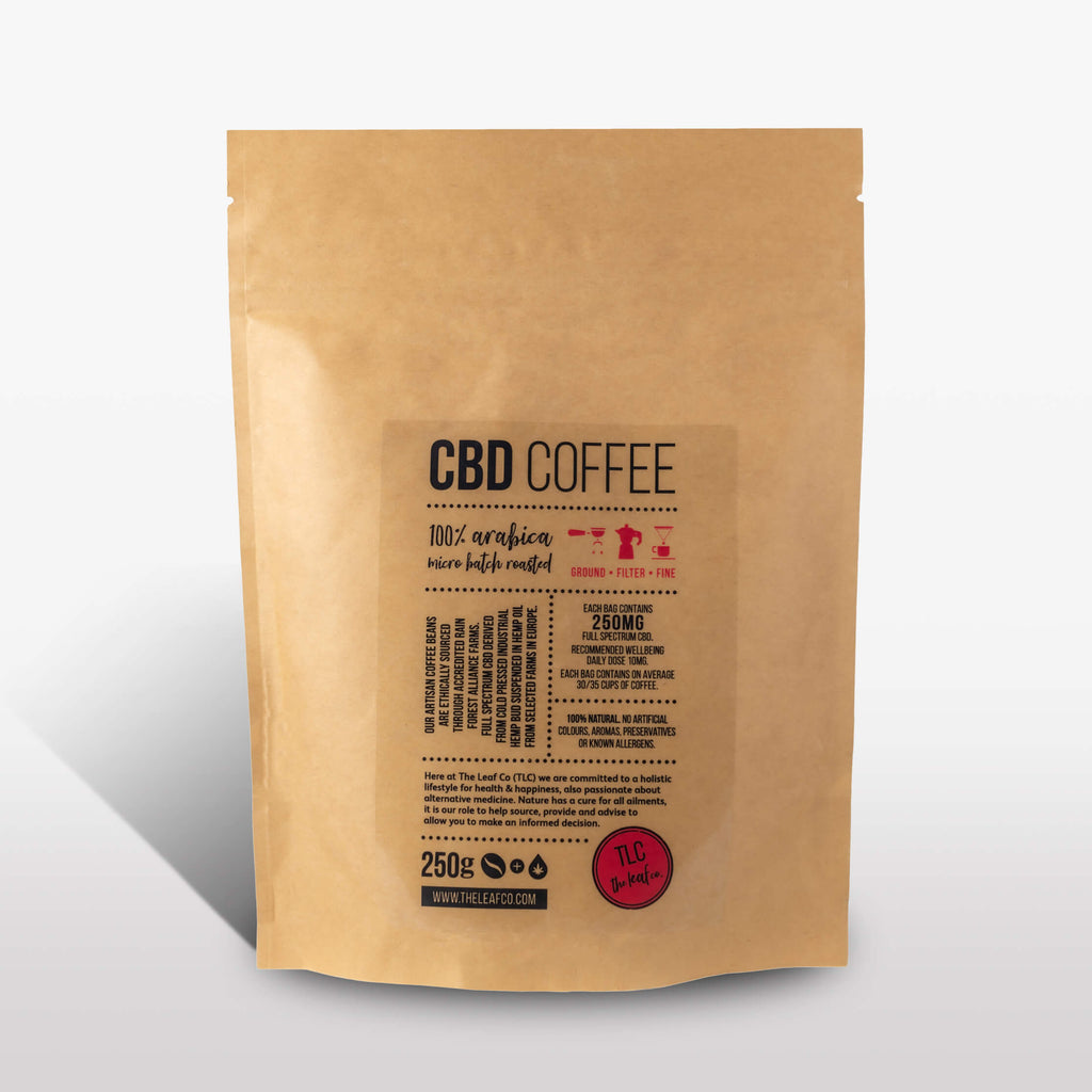 CBD Coffee - Filter, 250g bag