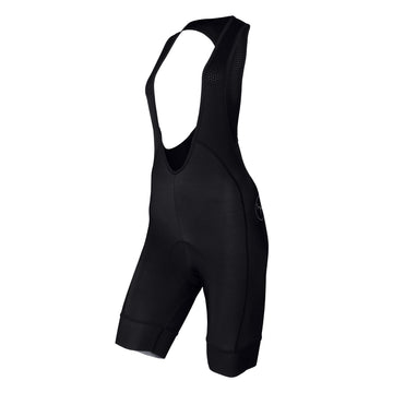 Defence / Womans Thermal Bib Shorts - Pitch Black