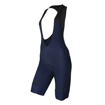 Defence / Womens Thermal Bib Shorts - Navy