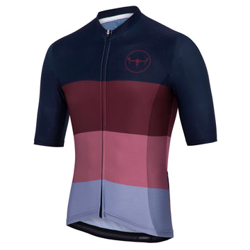 Apex Pro Mens Jersey - Navy/Mulberry