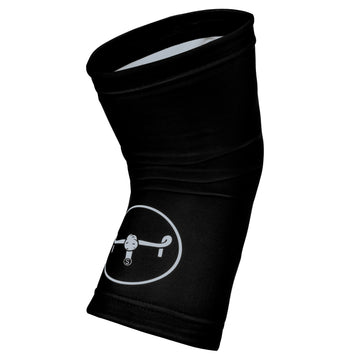 Knee Warmers / Big Logo - Black