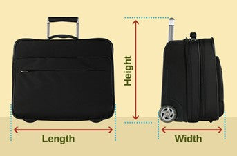 Luggage Sizing Guide for International Travel - 2019