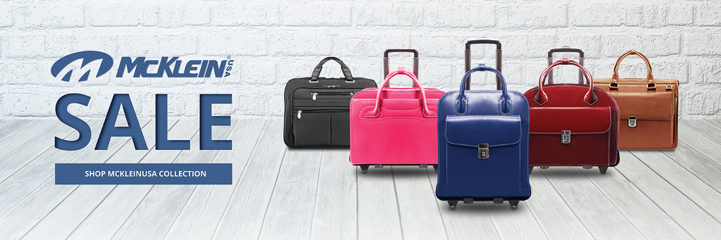 McKlein USA | Sale up to 70% OFF. Luggage, Briefcases, Bags.