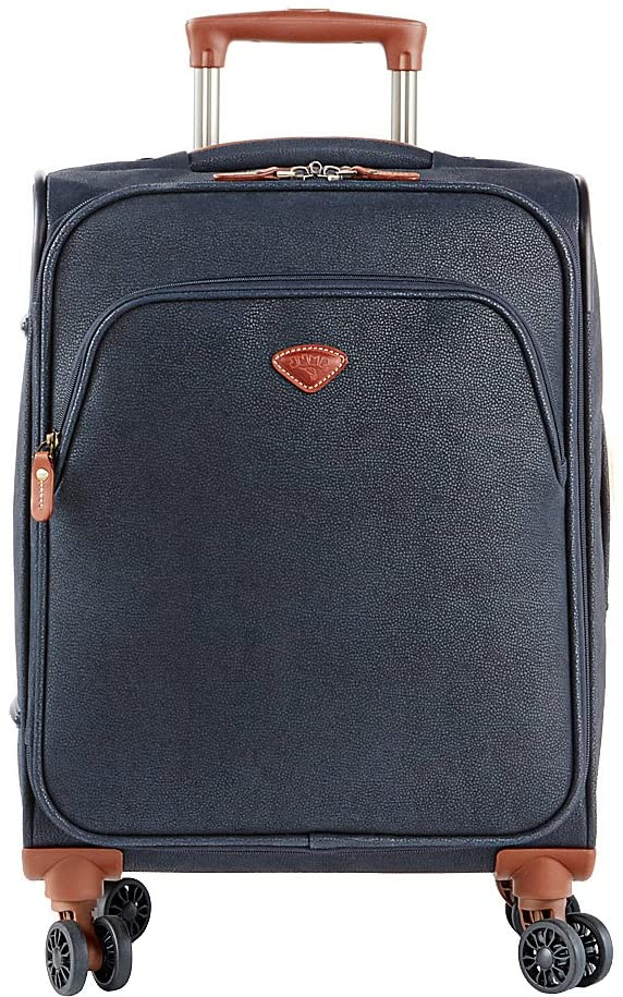 Jump Uppsala Expandable Carry-On Spinner Suitcase (Navy)