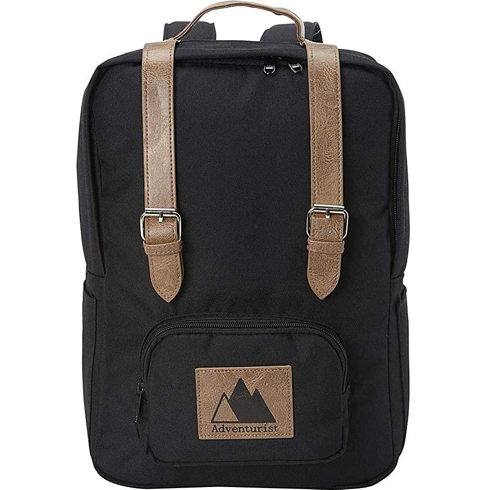 Adventurist Backpack Co-Adventurist Backpack Co Classic Laptop Backpack-bags-packs.com