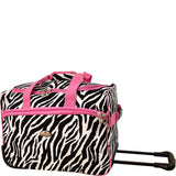 American Flyer-American Flyer Animal Print 5 Piece Spinner Luggage-bags-packs.com