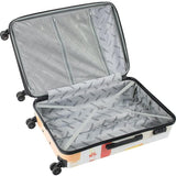 "American Green Travel-American Green Travel California 24"" Expandable Hardside Checked Spinner Luggage-bags-packs.com"