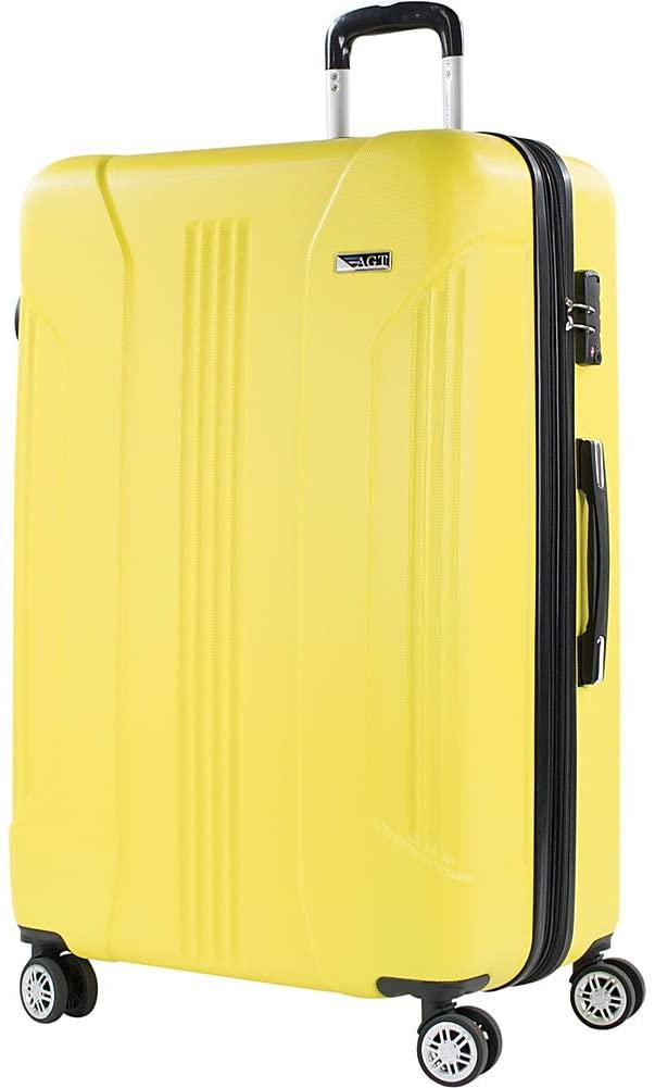 American Green Travel-American Green Travel Denali 30 Inch Expandable Hardside Checked Spinner Luggage-bags-packs.com
