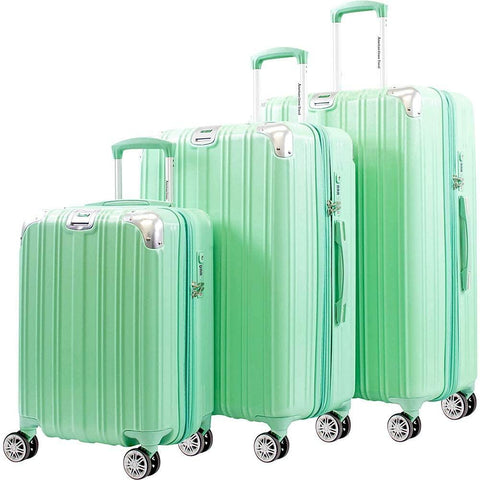 American Green Travel-American Green Travel Lightning Ll Hardside 3-Piece Spinner Luggage Set-bags-packs.com
