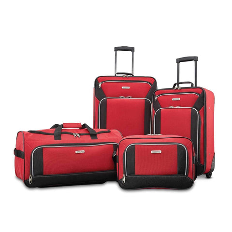 AMERICAN TOURISTER-AMERICAN TOURISTER Fieldbrook XLT 4 Piece Luggage Set-bags-packs.com