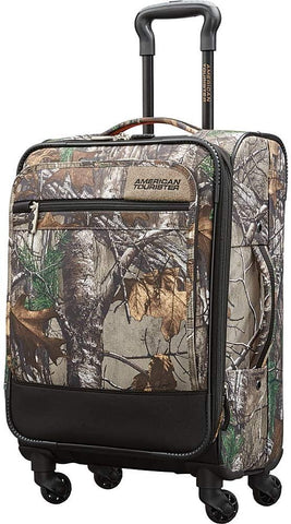 American Tourister-American Tourister RealTree 20 Inch Carry on Spinner-bags-packs.com