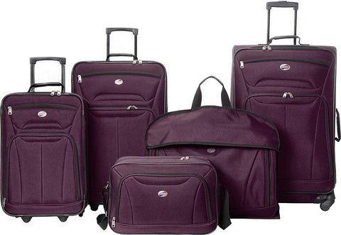 American Tourister-American Tourister Wakefield 5 Piece Luggage Set-bags-packs.com