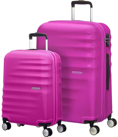 American Tourister-American Tourister Wavebreaker 2 Piece Hardside Spinner Luggage Set-bags-packs.com