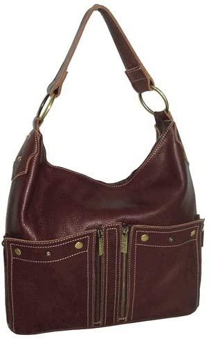 Amerileather-AmeriLeather Caroline Leather Hobo-bags-packs.com