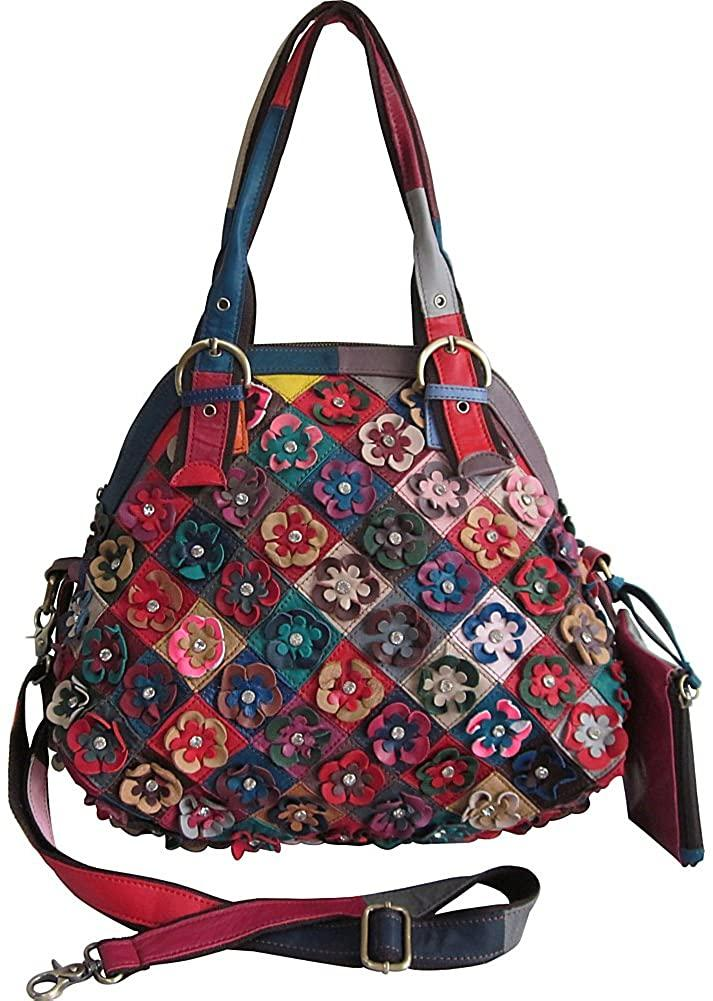 Amerileather-AmeriLeather Lorely Leather Tote Bag-bags-packs.com