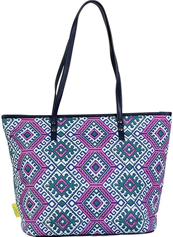 Amy Butler-Amy Butler for Kalencom Sweet Bliss Carryall (Camel Blanket/Cloud)-bags-packs.com