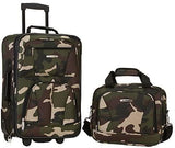 BB Bags&Backpacks-Rockland Luggage Rio 2 Piece Carry On Luggage Set-bags-packs.com