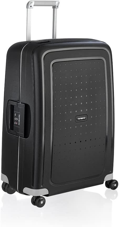 "BB Bags&Backpacks-Samsonite S'Cure 28"" Spinner Hardside Luggage in Black-bags-packs.com"