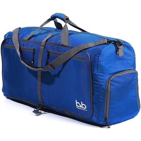 B&B-B&B 100L Extra Large Duffle Bag - Packable Travel Duffel Bag-bags-packs.com