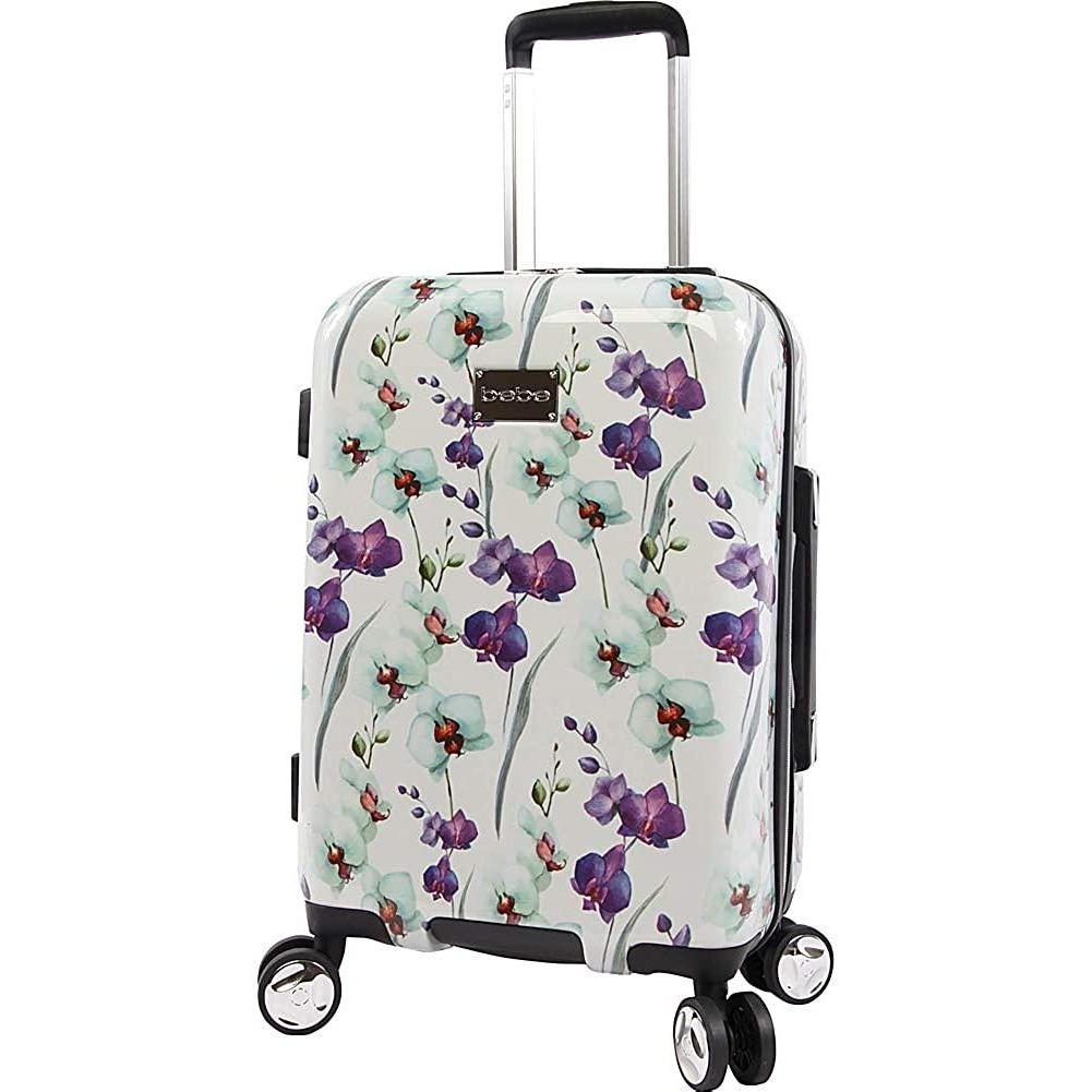 "bebe-BEBE Alexandra 21"" Hardside Carry-on Spinner-bags-packs.com"