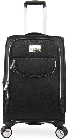 "bebe-BEBE Women's Carissa 21"" Expandable Spinner Carry-on-bags-packs.com"