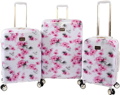 bebe-BEBE Women's Juliette 3pc Spinner Suitcase Set-bags-packs.com