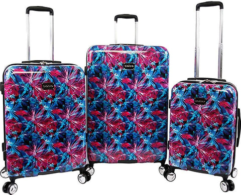 bebe-BEBE Women's Tina 3pc Spinner Suitcase Set-bags-packs.com