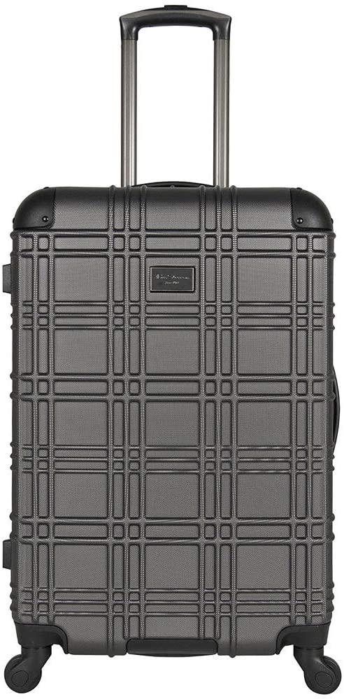 "Ben Sherman Business and Travel-Ben Sherman Nottingham 24"" Embossed PAP 4-Wheel Upright Luggage-bags-packs.com"