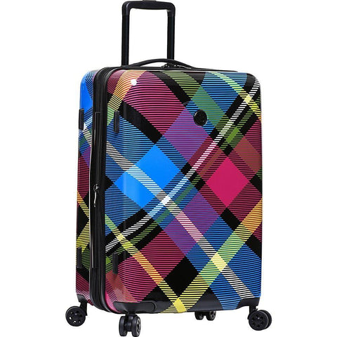 BODY GLOVE-BODY GLOVE Long Lat Tartan 26 inch 8-Wheel Hardside Spinner (Multi)-bags-packs.com