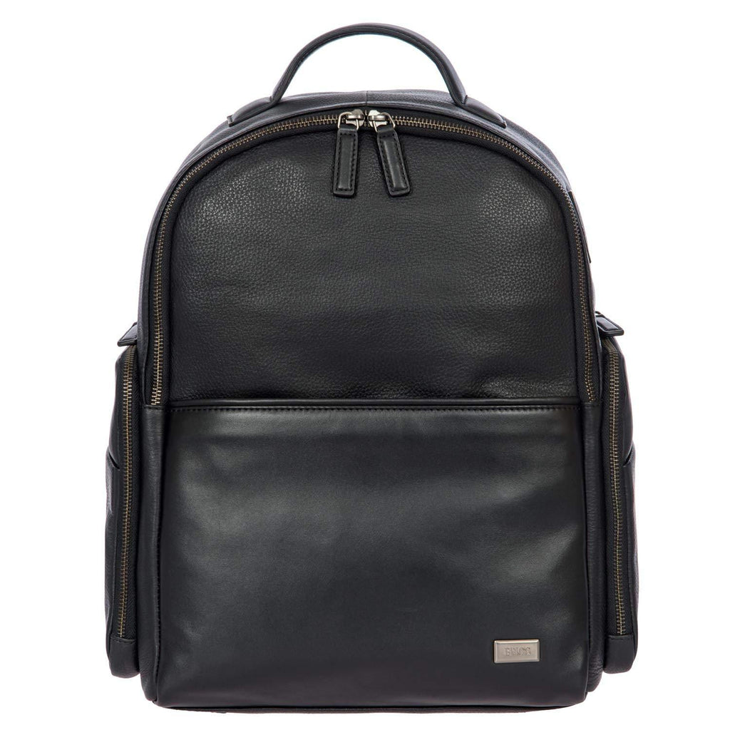 Bric's-Bric's Torino Leather Medium Laptop|tablet Business Backpack Business Backpack-bags-packs.com