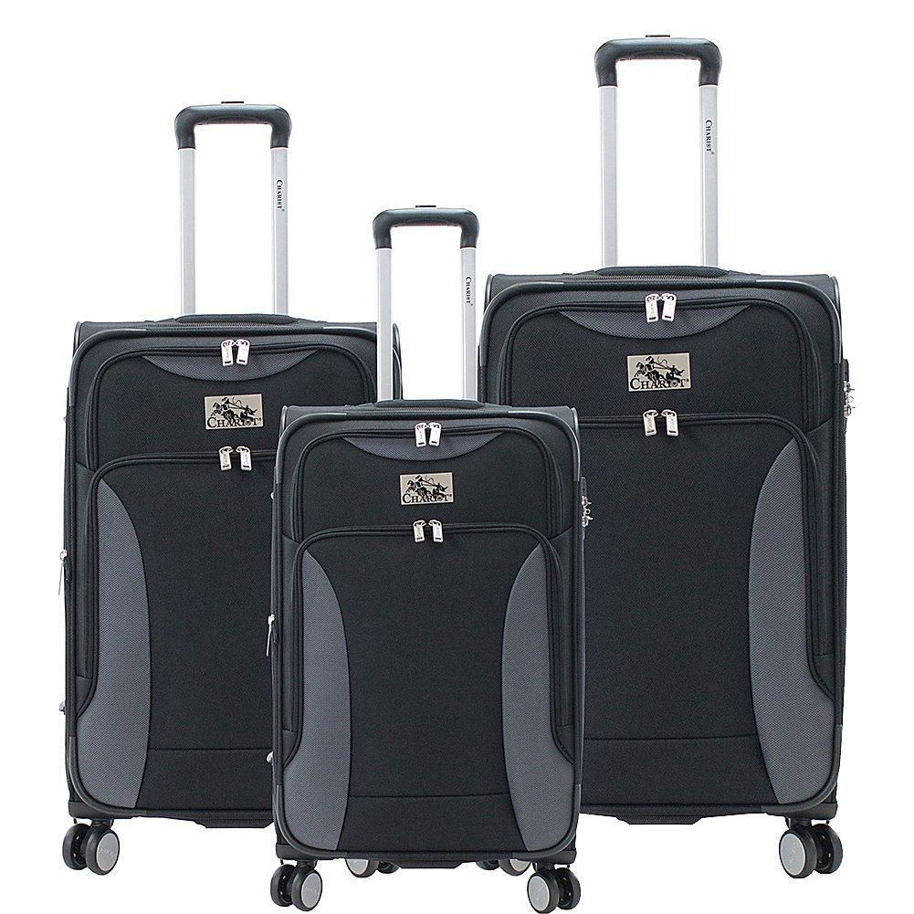 Chariot-Chariot Madrid 3-Piece Luggage Set-bags-packs.com