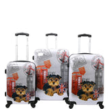 Chariot-Chariot UK 3 Pc Hardside Spinner Set-bags-packs.com