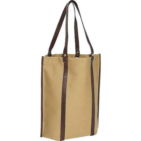 Clava-Clava Eco-Chic Canvas Roll-Up Tote-bags-packs.com