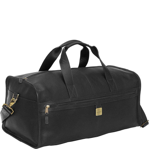 "Clava-Clava Leather 23"" Large Square Duffel-bags-packs.com"