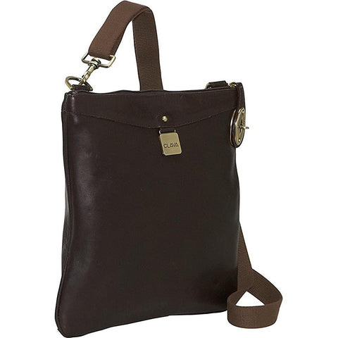 Clava-Clava Leather Turnlock Messenger-bags-packs.com