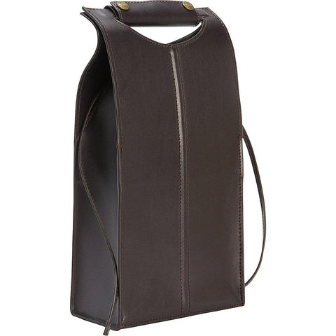 Clava-Clava Leather Two Bottle Carrier-bags-packs.com