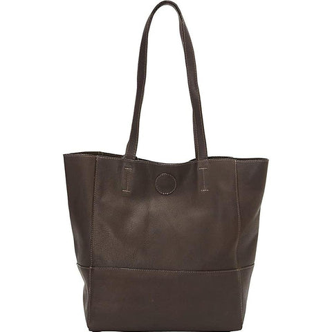 Clava-Clava Vertical Kate Tote (Vachetta Cafe)-bags-packs.com