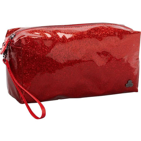 Clava-Clava Women's Jazz Glitter Large Cosmetic/Travel Case-bags-packs.com