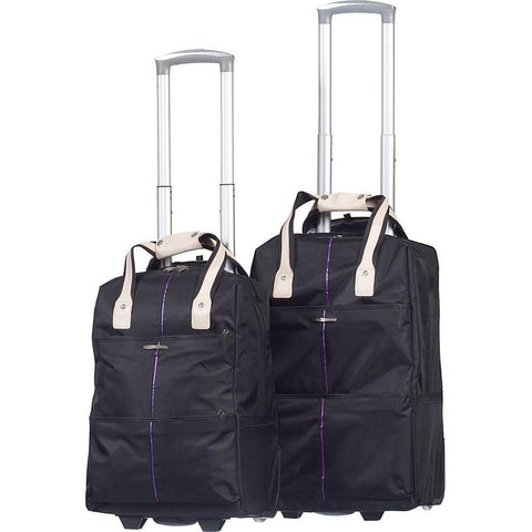 Club Rochelier-Club Rochelier 2 Piece Trolley Travel Bag Set-bags-packs.com
