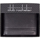 Club Rochelier-Club Rochelier Leather Slimfold with Center Removable ID-bags-packs.com