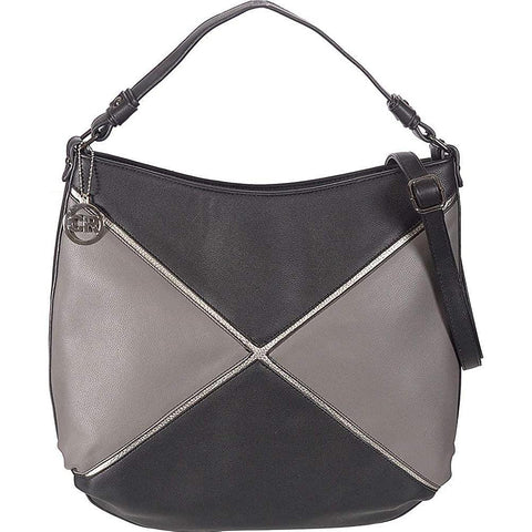 Club Rochelier-Club Rochelier Oversized Colorblock Hobo-bags-packs.com