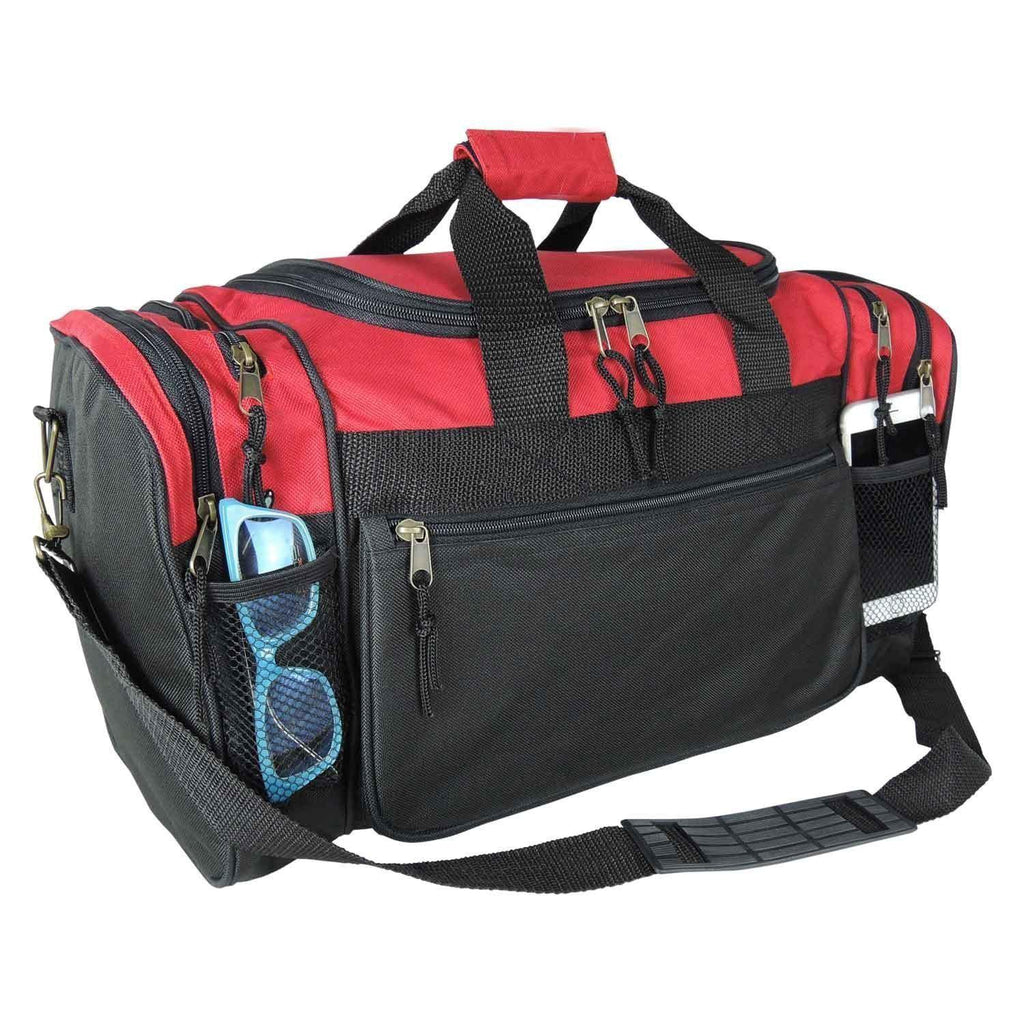 "DALIX-DALIX 19"" Gym Duffel Bag with Water Bottle-bags-packs.com"