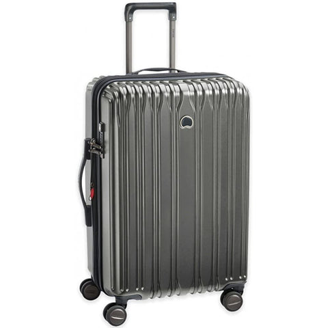 "DELSEY Paris-Delsey Unisex 25"" Chromium Lite Expandable Spinner Upright-bags-packs.com"